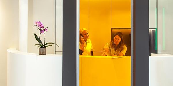 Photo de la clinique dentaire conventionnée Denteeth - Accueil
